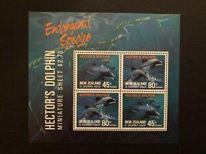 NEW ZEALAND 1991 , MARINE LIFE , ANIMALS ,  Sc # b140a , MNH ** , Cv $5.75