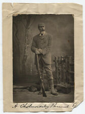 CABINET CARD PHOTO HENRY CHOLMONDELEY-PENNELL 1837-1915. FLY FISHERMAN, HUNTER.