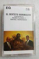 El Sexteto Borinquen Pedro Flores y Rafael Hernandez EQ-507 1985 Cassette Sealed
