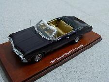 CHEVROLET Impala ss 1967 Convertible Cabriolet royal plum tsm voiture miniature 1:43
