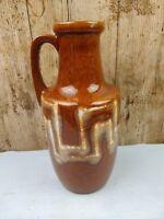 Vintage West German SCHEURICH 404/26 Vase Pitcher Jug 1970s  Fat Lava Castle