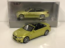 Minichamps 870027234 BMW M4 Cabrio 2015 Yellow Metallic 1:87 Scale