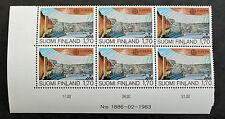 EUROPA Timbre FINLANDE / FINLAND Stamp - Yvert et Tellier n°891 x6 n** (Y3)