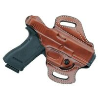 Aker Leather H168BPRU-MP 40 Black RH FlatSider Holster XR12 S/&W M/&P .40