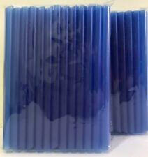 "Jumbo Bubble Boba Tea Smoothies Straws 1/2""Wide 8 1/2""Long 2X50-54 Pcs Navy"