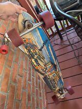 "bustin big surf longboard pintail 9.25"" x 44"" RKP 97mm 75a Wheels ! Big Wheels!!"