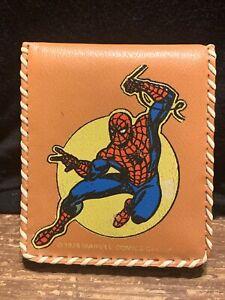 1978 Spiderman Wallet Marvel Comics Group Vintage Vinyl