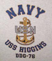 USS BENJAMIN STODDERT  DDG-22* DESTROYER U.S NAVY W// ANCHOR* SHIRT