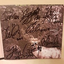 Oh My Girl all members signed/autographed Windy Day album / no photo card