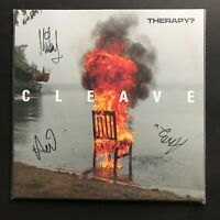 Therapy? Cleave UK LP, Limited Edition, coloured vinyl- Signed by the Band- NM