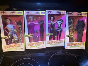 Spice Girl Dolls Spice It Up 2 Complete Doll Set Rare