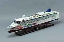 "Norwegian Pearl Cruise Ship 40"" Handmade Wooden Ship Model"