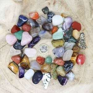 50 x Assorted Crystal Tumblestone Sets Collections 444g-555g Reiki seconds