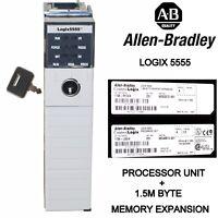 Allen-Bradley Processor Unit 1756-L55/A Ser.A Cat.Rev.E01 and 1756-M13/A Ser.A
