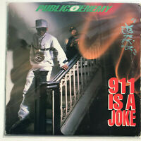 Public Enemy 911 Is A Joke Vinyl Record Original Hip Hop 1990