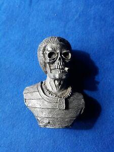 "Mini Skull /Skeleton Resin Figure Bust Statue -3"" Tall"