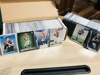 Huge Panini Football Card Rookie Only Lot (700 Cards) Autos+Jersey+Drew Lock