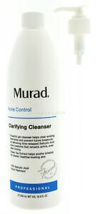 Murad Acne Clarifying Cleanser Pro Size ( 16.9 fl oz / 500 mL ) AUTH/ EXP02/2023