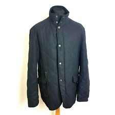 Oliver Sweeney Mens Colindale Jacket Country Size Large Grey Quilted Padded