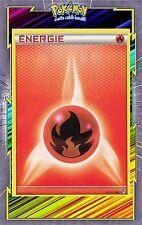 Energie Feu - N&B: Noir et Blanc - 106/114 - Carte Pokemon Neuve Française
