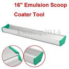 """16"""" Emulsion Scoop Coater Silk Screen Printing Press Aluminum Coating Tool DIY"""