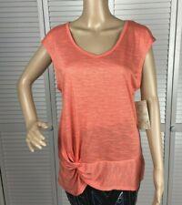NWT Balance Collection Light Orange Yoga Fitness Shirt Top Size Medium