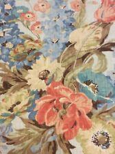 "Portfolio Textiles Fabric Samples 25"" x 25"" Set of 4 Jamie Linen Floral"
