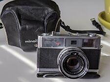 Minolta Hi-Matic 7s W/ Case Vintage