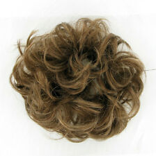 hair bun scrunchie for ponytail golden light brown 17:12 peruk