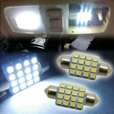"4pcs White16-SMD 1.50"" 36mm 6418 C5W LED Bulbs For Car License Plate Light"