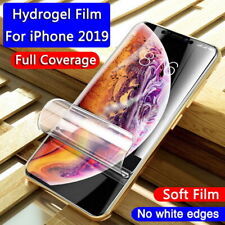For iPhone 12 11 Pro Max Xs Max 10D Full Violet Matte Soft Film Screen Protector