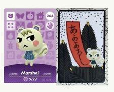 Marshal (264)  series 3 ✨Animal Crossing Amiibo Card✨ Hanafuda
