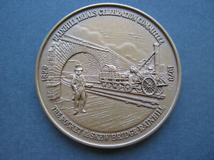 1979 Liverpool & Manchester Railway 150th anniversary medal 45mm