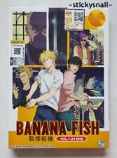 Anime DVD Banana Fish Vol. 1-24 End GOOD ENG SUB All Region FREE SHIPPING