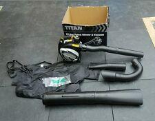 new Titan TTL684BVC 27.6cc 2-stroke petrol blower & vacuum