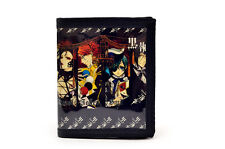 Black Butler PU Leather Wallet /Ciel, Sebastian, Madam Red, Sutcliff (BLB-B4A)