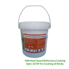 10lb Heat Guard Refractory Coating Upto 3270F For Coating of Bricks