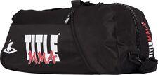 Title MMA World Champion Sport Bag Back Pack Gym Equipment Bag