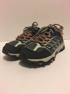 Merrell Kids Moab  MK260888 Lace Up Waterproof Hiking Shoes Sz Youth 2.5W
