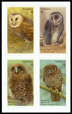 2016 Owls : Guardians of the Night - Set of 4 Self Adhesive Stamps - MUH