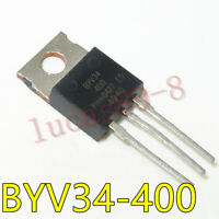 10PCS BYV34-400 TO-220 Dual rectifier diodes ultrafast
