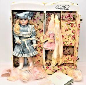 "Vintage Marie Osmond 19"" Signed Doll Cecilia 2006 Limited 53/150 Vignette 6.4"