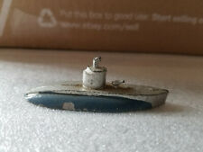 VINTAGE DIECAST SLUSH METAL NAVAL SUBMARINE FRANCE