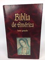 Biblia De America Letra Grande 1999 Leather La Casa De La Biblia Very Nice