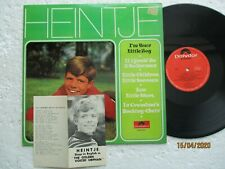 HEINTJE SIMONS - I'm your little Boy -Rare/ unknown HONG KONG release LP /Insert