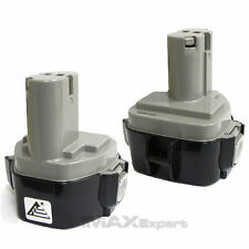 2 x 12V Extended 3.0AH Ni-MH Battery for MAKITA 1233 1234 1235 192696-2 192698-8