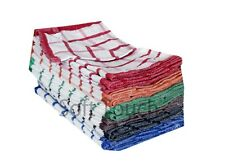 100% Cotton Terry Tea Towels Set Kitchen Dish Cloths Cleaning Drying Pack Of 15