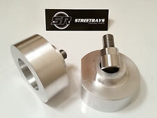"""StreetRays Billet FORD 99-15 F250 F350 2WD 2"""" LEVELING LIFT SPACERS KIT & STUDS"""