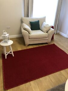New Value Twist Rug Tomato Red 3m X 2m (10ft X 6ft6)