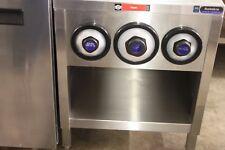 Amtekco 24″ Stainless Slushie Pop Soda Machine Table Cabinet w/ Cup Holders 2′